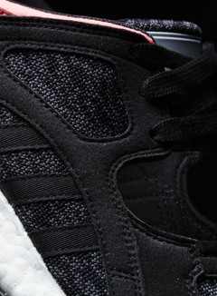 Adidas Originals - WMNS Equipment Racing 91/16, Core Black/Turbo Red 4