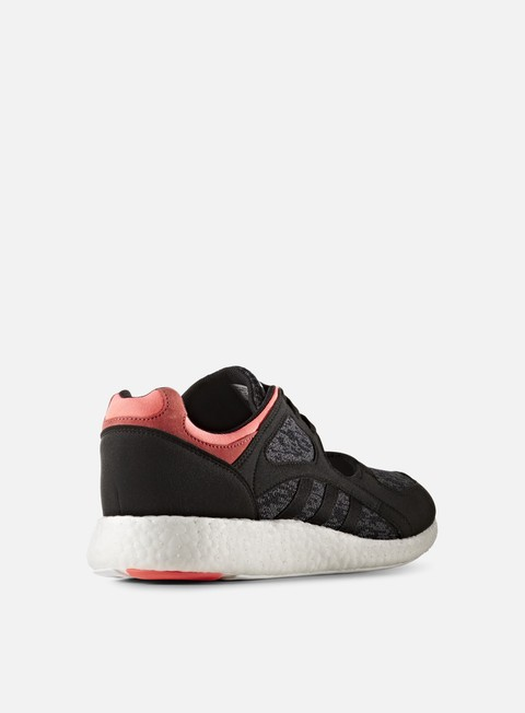 WMNS Equipment Racing 91/16, Core Black/Turbo Red - Sneakers