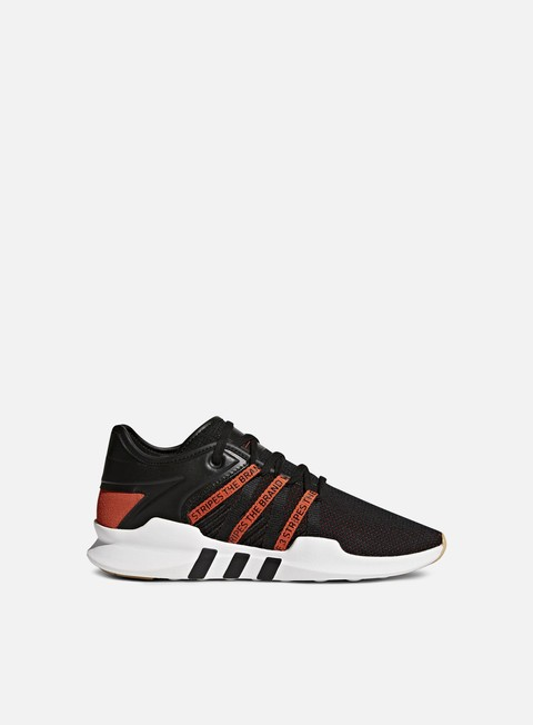 sneakers adidas originals wmns equipment racing adv core black bold orange white
