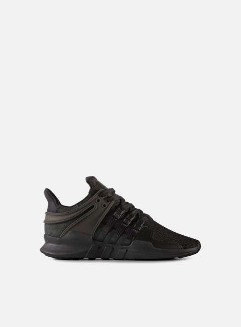 sneakers adidas originals wmns equipment support adv core black core black sub green
