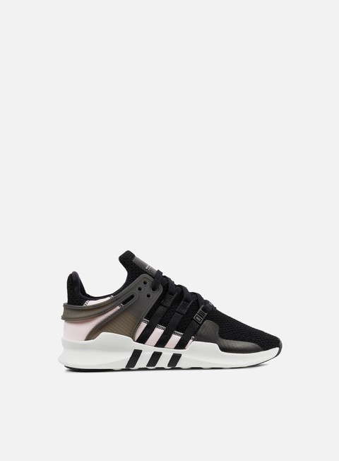 sneakers adidas originals wmns equipment support adv core black white clear pink