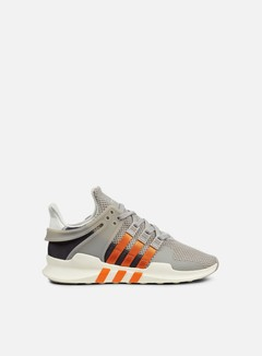 Adidas Originals - WMNS Equipment Support ADV, Core Granite/Orange 1