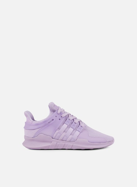 sneakers adidas originals wmns equipment support adv purple glow purple glow sub green
