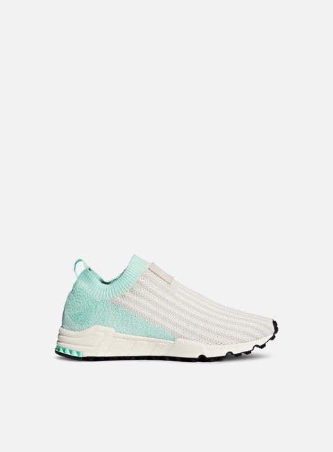 sneakers adidas originals wmns equipment support sk primeknit clear brown chalk white clear mint