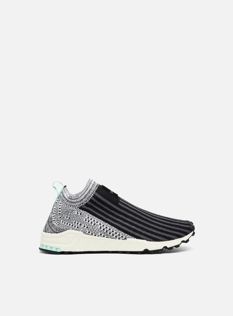 sneakers adidas originals wmns equipment support sk primeknit core black ftwr white clear mint