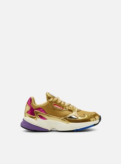 Adidas Originals - WMNS Falcon W, Gold Met/Gold Met/Off White