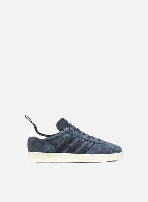 sneakers adidas originals wmns gazelle utility blue utility blue silver metallic