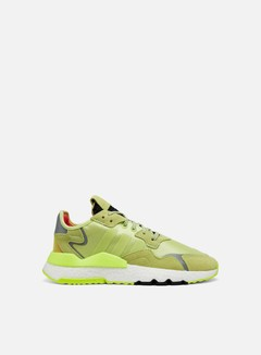 Adidas Originals - WMNS Nite Jogger, Semi Frozen Yellow/Semi Frozen Yellow/Hi-Res Yellow