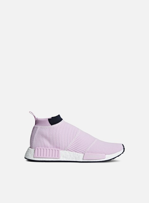 sneakers adidas originals wmns nmd cs1 primeknit clear lila clear lila legend ink