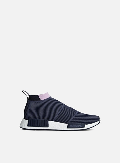 sneakers adidas originals wmns nmd cs1 primeknit legend ink legend ink clear lila