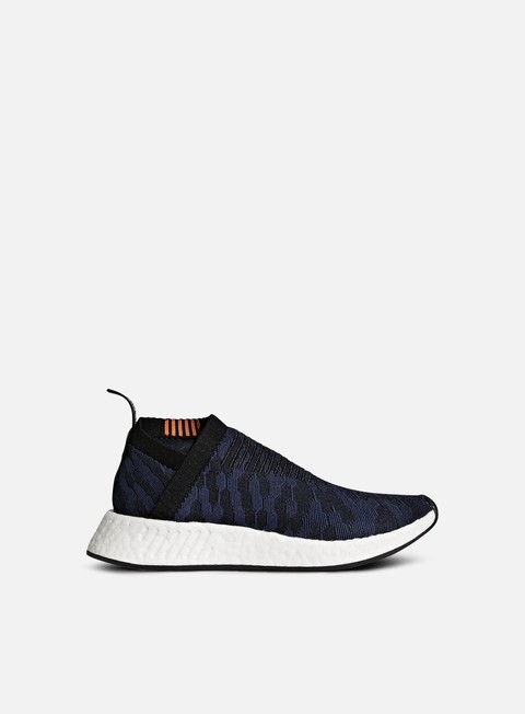 sneakers adidas originals wmns nmd cs2 primeknit core black noble indigo white
