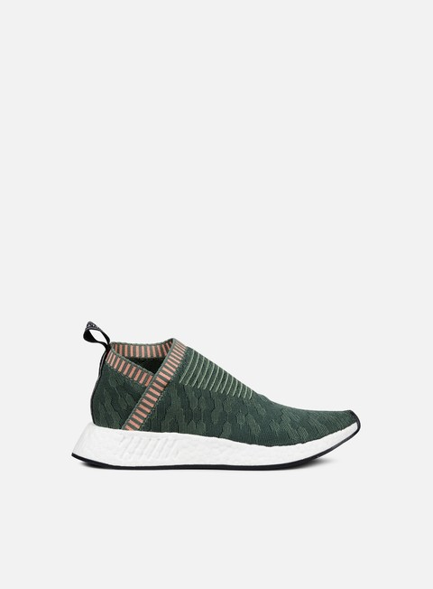 sneakers adidas originals wmns nmd cs2 primeknit trace green trace green trace pink