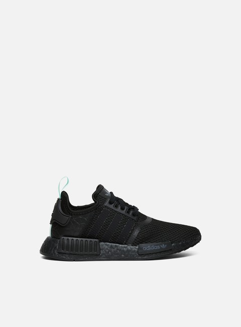 sneakers adidas originals wmns nmd r1 core black core black clear mint
