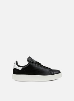 Adidas Originals - WMNS Stan Smith Bold, Black/Black/White