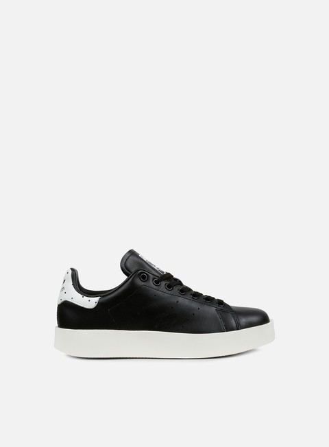 sneakers adidas originals wmns stan smith bold black black white