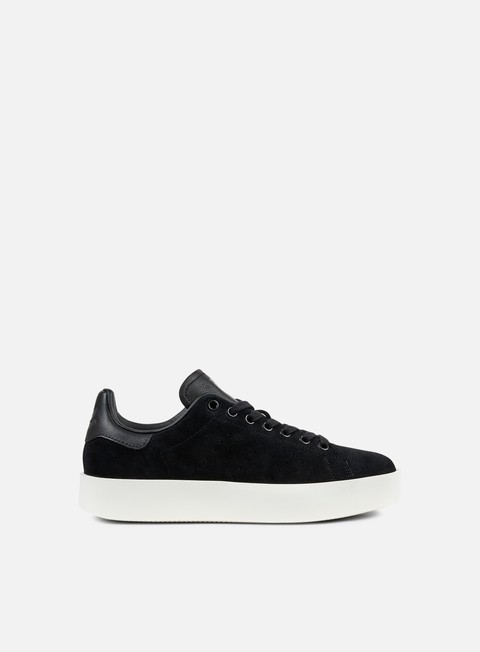 sneakers adidas originals wmns stan smith bold core black core black off white