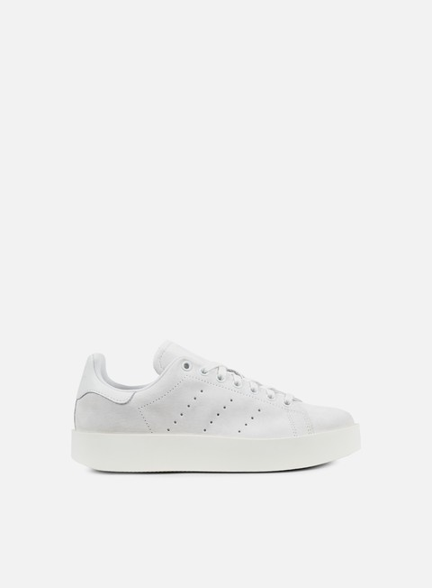 sneakers adidas originals wmns stan smith bold crystal white crystal white off white