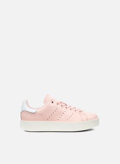 Adidas Originals - WMNS Stan Smith Bold, Ice Pink/Ice Pink/White