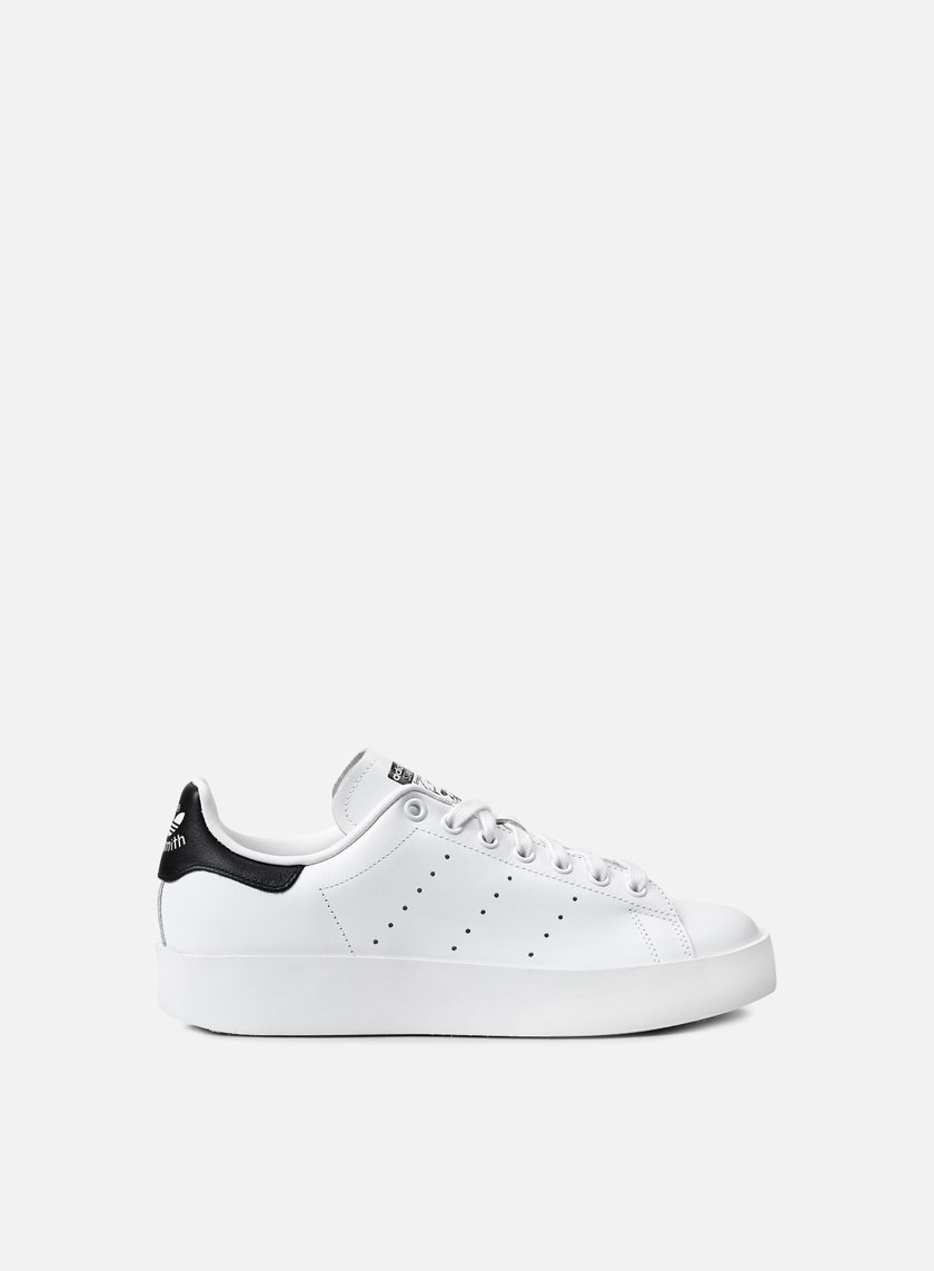 Adidas Originals - WMNS Stan Smith Bold,  Running White/Running White/Core Black