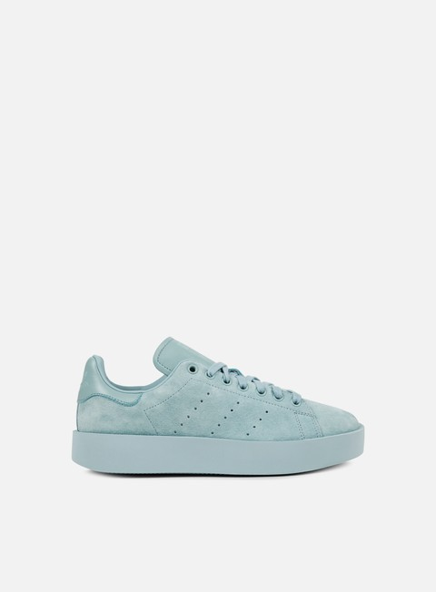sneakers adidas originals wmns stan smith bold tactile green tactile green tactile green