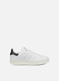 Adidas Originals - WMNS Stan Smith Bold, White/White/Core Black