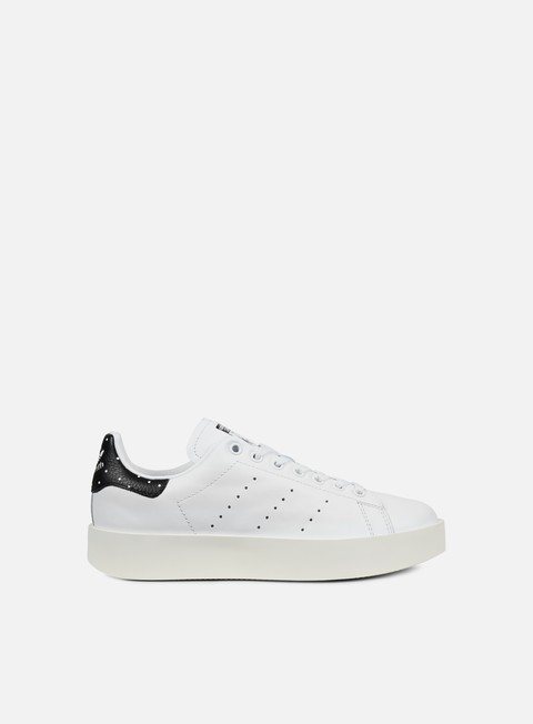 sneakers adidas originals wmns stan smith bold white white core black