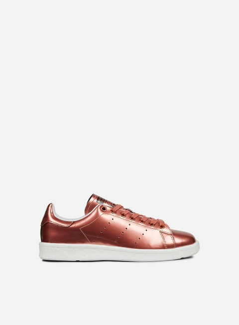 sneakers adidas originals wmns stan smith boost copper metallic white