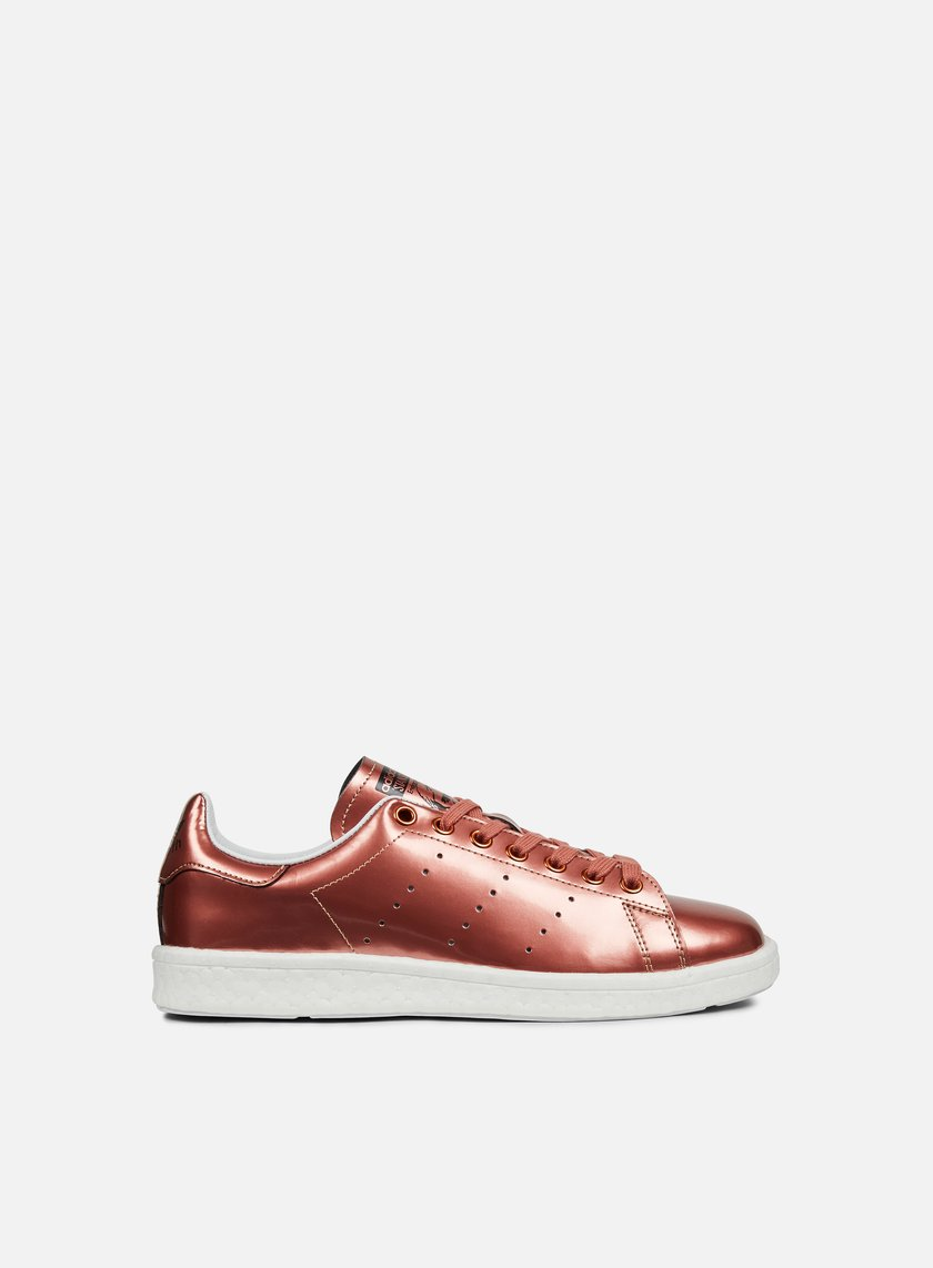 Adidas Originals - WMNS Stan Smith Boost, Copper Metallic/White