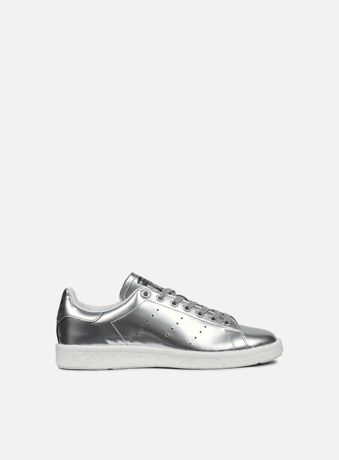 sneakers adidas originals wmns stan smith boost silver metallic white