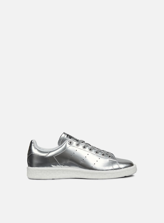 Adidas Originals - WMNS Stan Smith Boost, Silver Metallic/White