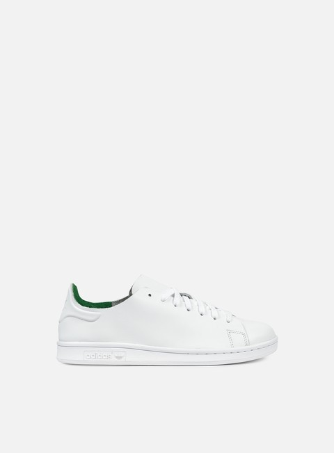 sneakers adidas originals wmns stan smith nude white white green