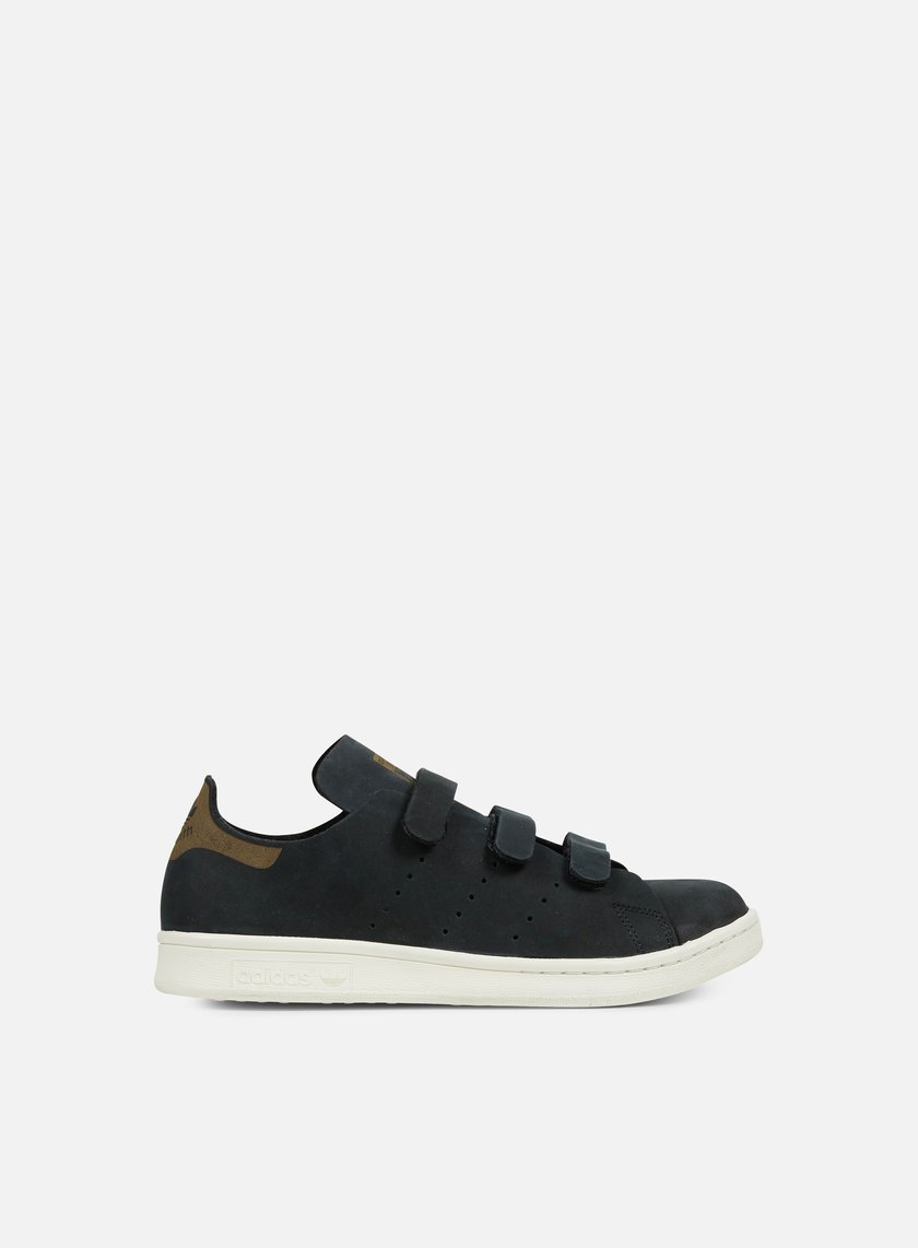 Adidas Originals - WMNS Stan Smith OP CF, Core Black/Core Black/Off White