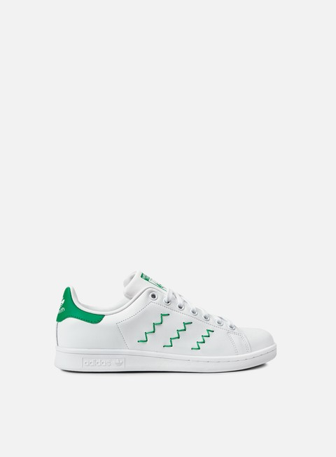 sneakers adidas originals wmns stan smith running white running white green