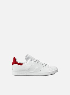 Adidas Originals - WMNS Stan Smith, Vintage White/Vintage White/Red 1