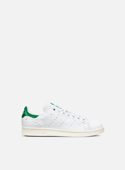 sneakers adidas originals wmns stan smith white white green