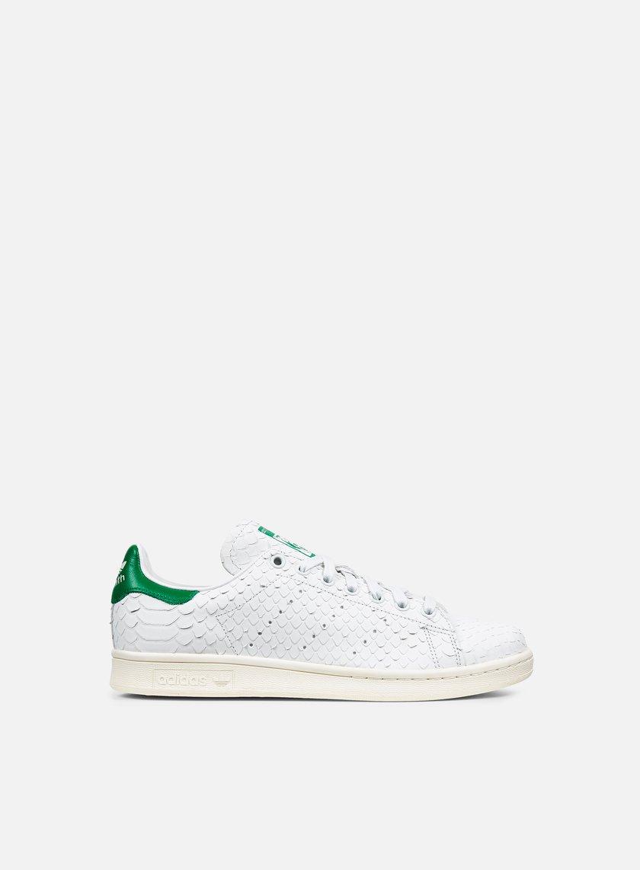 Adidas Originals - WMNS Stan Smith, White/White/Green