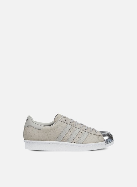 sneakers adidas originals wmns superstar 80s metal toe clear grey clear grey metallic silver
