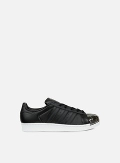 Adidas Originals - WMNS Superstar 80s Metal Toe, Core Black/Black/White
