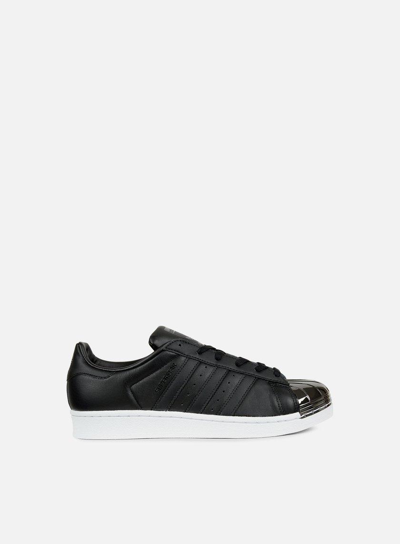 Adidas Originals - WMNS Superstar 80s Metal Toe, Core Black/Black/White