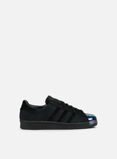 Adidas Originals - WMNS Superstar 80s Metal Toe, Core Black/Core Black/White 1