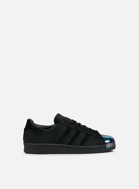 sneakers adidas originals wmns superstar 80s metal toe core black core black white