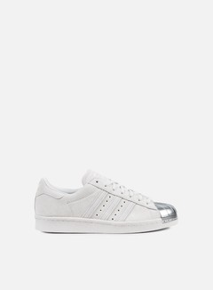 Adidas Originals - WMNS Superstar 80s Metal Toe, Grey One/Grey One/Grey One