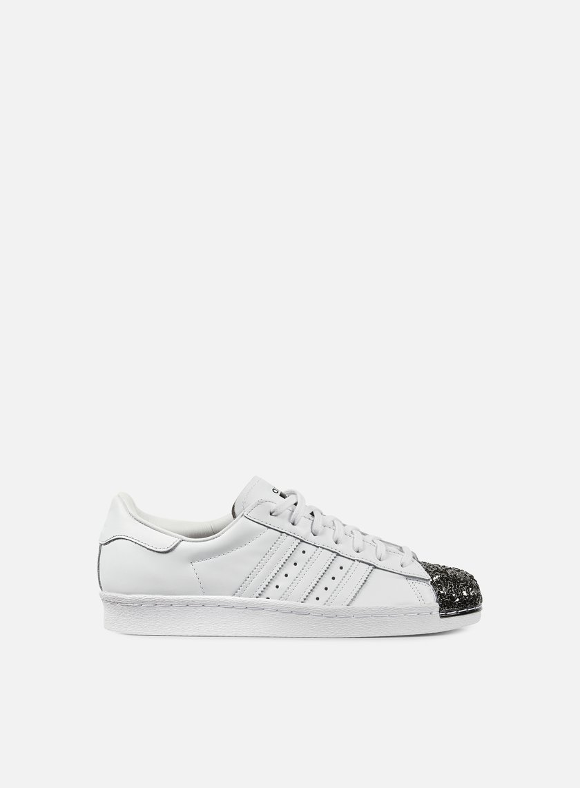 Adidas Originals - WMNS Superstar 80s Metal Toe TF, White/White/Black