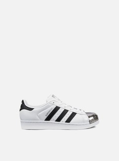 Adidas Originals - WMNS Superstar 80s Metal Toe, White/Core Black/Silver Metallic