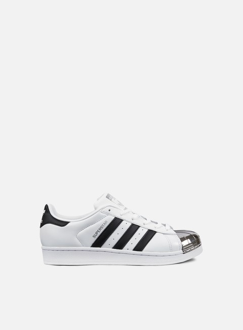 sneakers adidas originals wmns superstar 80s metal toe white core black silver metallic