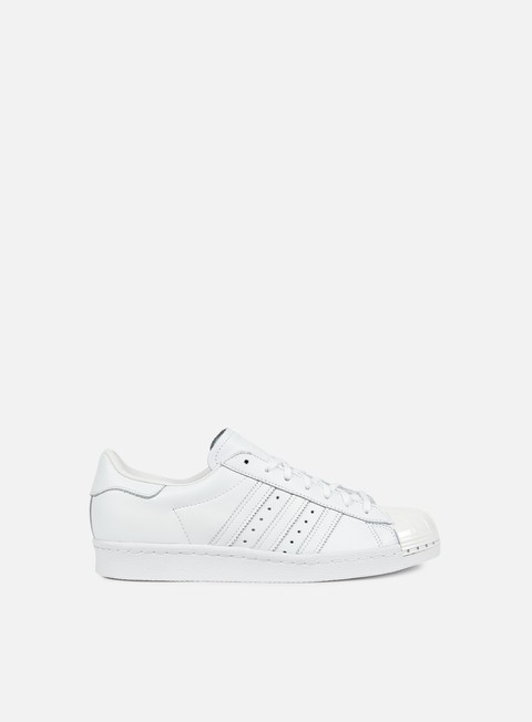 sneakers adidas originals wmns superstar 80s metal toe white white core black