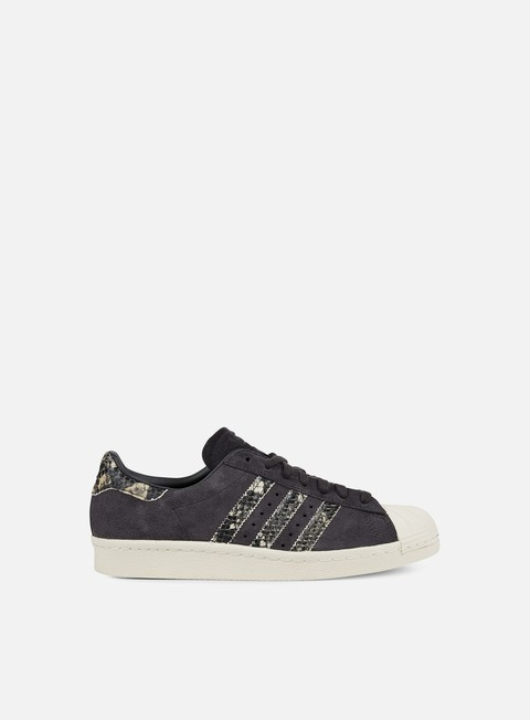 sneakers adidas originals wmns superstar 80s utility black utility black off white