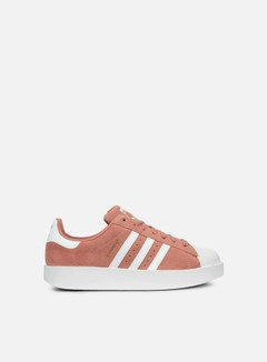 Adidas Originals - WMNS Superstar Bold, Ash Pink/White/Gold Metallic