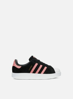 Adidas Originals - WMNS Superstar Bold, Core Black/Ash Pink/White