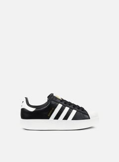 Adidas Originals - WMNS Superstar Bold, Core Black/Footwear White/Gold Metallic 1